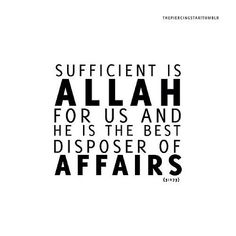 Sufficient is Allah