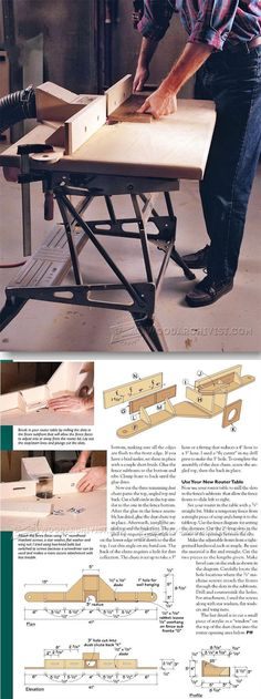 how to build woodworking jigs