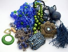 Lot of Vintage Jewelry Pieces  Jewelry by ThisPurplePoppy on Etsy, $15.00