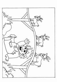 Farm Animal Coloring Pages, Coloring Books, Nursery Rhymes Preschool, Billy Goats Gruff, Goldilocks And The Three Bears, Traditional Stories, Family Fun Night, Book Themes, Arts And Crafts Projects