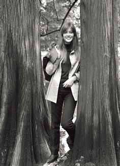 Original Street Style Star: Francoise Hardy - 1966: A Picture-Perfect Pose from #InStyle