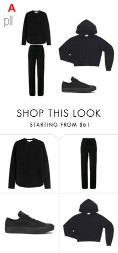 """A pll outfit"" by brookeadam ❤ liked on Polyvore featuring Alexander Wang, Chloé and Converse"