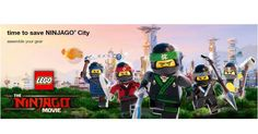 FREE Ninja Mission Scavenger Hunt Event @ Target On 9/30! join THE LEGO NINJAGO MOVIE scavenger hunt at your nearest Target store on 9/30, 10am – 1pm. It Sounds Like All Or Most Targets Are Participating But It Would Be A Good Idea To Verify Your Local Stores Participation Before Heading...