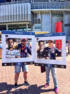 NRL Grand Final Fan Engagement instagram cut outs for pics