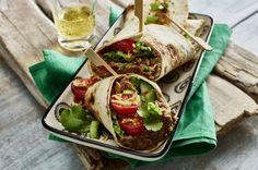 Unser beliebtes Rezept für Wraps mit Bohnen-Hummus und mehr als 55.000 weitere kostenlose Rezepte auf LECKER.de.