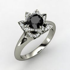 Black diamonds are absolutely some of the best looking diamonds out there and they shimmer and shine, just like a clear diamond!