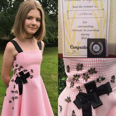 Lili's dress she designed with 22 Swarovski Manchester bees in honour of those who lost their lives at the Manchester bombing , Lili wore her dress to an awards event at her school where she won an award. Well done Lili ✌️@Swarovski  #daughter #raineandbea #raineandbealingerie lingerie #Ribblesdale #manchesterbees #manchester #highschool #awards #oscars #redcarpet #gown #swarovski #bee  #lovemanchester #savethebees #ribbies2017 #school #student #pupil #clitheroe #ribblevalley…
