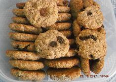 Vločkové sušenky a la BeBe dobré ráno recept - TopRecepty.cz Muesli, Sweet And Salty, 4 Ingredients, Ale, Muffin, Food And Drink, Healthy Recipes, Cookies, Baking