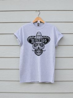 Day Of The Dead Tee, By Ben Prints On Etsy