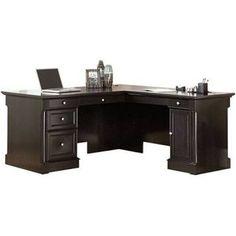 Sauder Avenue Desk, Wind Oak, Desks,Wood