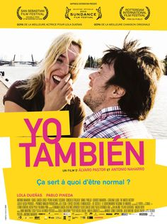 Yo Tambien.  A love story between office workers, one of whom has Down syndrome.