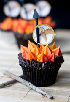 Sweet Tooth// Hunger Games Cupcakes
