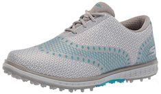Made from textile these womens go golf elite ace jacquard golf shoes by Skechers come with a durable tpu rip outsoles and goga max technology insoles! Nike Womens Golf, Womens Golf Shoes, Adidas Shoes Women, Nike Shoes, Shoes Skechers, Skechers Performance, Ladies Golf, Women Golf, Golf Outfit