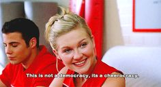 10 Bring It On Hairstyles to Copy Even if You Aren't on a Cheerleading Squad | Bustle Teen Movies, Movie Tv, Bring It On Quotes, Movies Showing, Movies And Tv Shows, Peyton Reed, A Cinderella Story, The Ugly Truth, Chick Flicks
