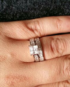 Gorgeous bridal set pick sent in by one of our lovely customers.