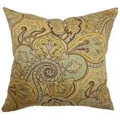 Saewara Spa Feathered Filled 18-inch Throw Pillow