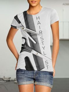 HairStylist T-Shirt - Wright Printers