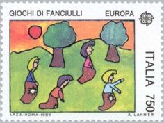 Timbre: Europa (Italie) (Europa (C.E.P.T.)) Mi:IT 2080,Sn:IT 1772,Yt:IT 1812,Sg:IT 2027,Un:IT 1883