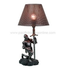 9423 Knight Lamp @Pacific Trading