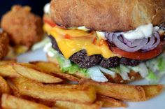 Spisekammeret: Bacon cheese burger