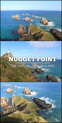 A trip to Nugget Point in the Catlins region of New Zealand's South Island. The coastal views are amazing and the nuggets and lighthouse are iconic things to see in the Catlins.