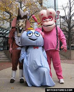 Cereal Monster Costumes...elaborate but amazing