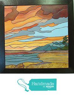 Abstract Island Sunset, Tropical, Wood Sculpture Wall Art, Nautical Beach Home Decor from Gallery At Kingston http://www.amazon.com/dp/B016R0YFXO/ref=hnd_sw_r_pi_dp_WQklwb1H8T17R #handmadeatamazon
