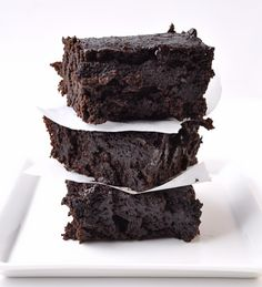 When I think about a really good brownie, I think rich, ooey gooey, butter laden, high calorie, stick to my rear end, kinda brownies.  Don't you?  Well, you don't have to stare at the brownie longingly anymore, you can eat it.  These brownies are completely vegan delish even with no eggs, butter …Share the Love:<...