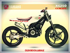 #yamaha#xg250#tricker250#special motorcycles#concept motorbike#street tracker#