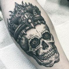 Join inkbe.com to see more! #inkbe #tattoo #blackwork