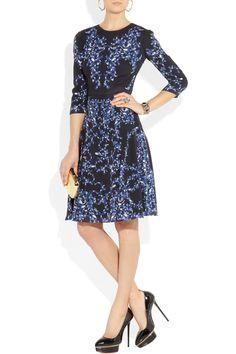 Erdem Lily printed silk-crepe dress NET-A-PORTER.COM