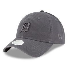 178a987262d Women s Detroit Tigers New Era Graphite Tonal Core Classic 9TWENTY Adjustable  Hat