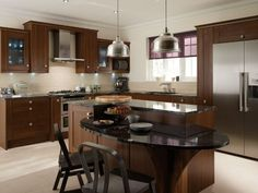 Teak Wood For Luxury Kitchen Cabinets Images Of Luxury Kitchen Cabinets