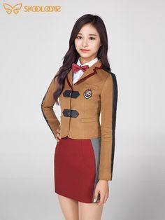 """prince and princess 💑 School Girl Outfit, Girl Outfits, Korean Girl, Asian Girl, Twice Jihyo, Tzuyu Twice, What Is Your Name, Nayeon, Kpop Girls"