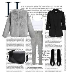 """Cuestión de tallas"" by ines-pereira-alonso on Polyvore featuring moda, Yves Saint Laurent y Alexander Wang"
