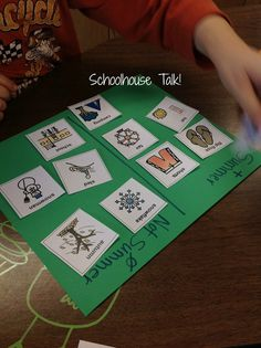 """Schoolhouse Talk!: Quick and Easy """"Anytime"""" and """"Any Goal"""" Activity"""
