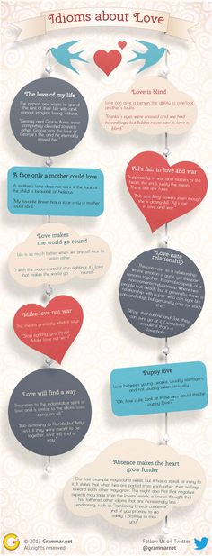 10 idioms about love