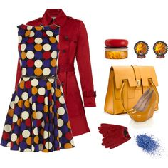 Primary colors, created by ilami.polyvore.com