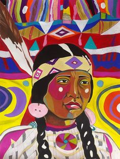 Gallery | George Littlechild - Canadian First Nations Artist