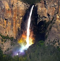 Радуга под водопадом - Путешествуем вместе