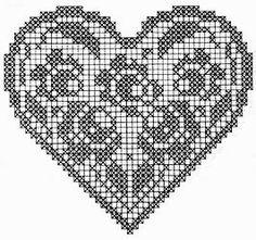 crochet em revista: motivos corações