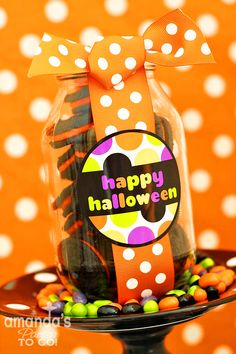 FREE Halloween Tags & Cupcake Toppers