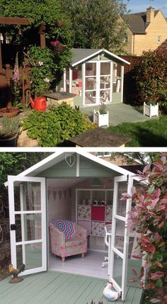 Women Are Creating She-Sheds, A Female Alternative To Man Caves (55 Pics)