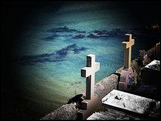 Cementerio de Niembro, situado en el oriente asturiano y perteneciente al concejo de Llanes