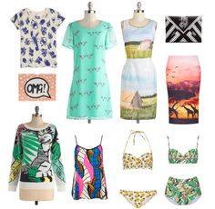 Prints!   How She'd Wear It with Style and Cheek