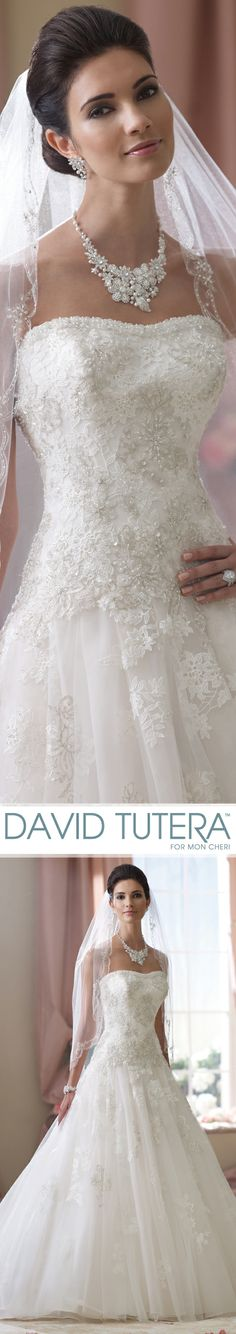 Style no 114282 ivy wedding dresses 2014 collection for David tutera wedding jewelry collection