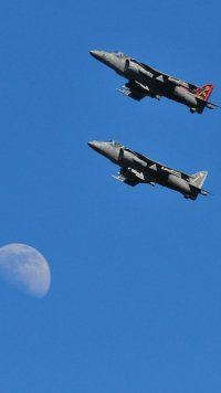 Military, McDonnell Douglas AV-8B Harrier II, Jet Fighters Mobile Wallpaper Air Force Aircraft, Fighter Aircraft, Fighter Jets, Concorde, Airplane Design, Military Pictures, Military Equipment, No Name, Air Show