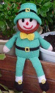Leprechaun Doll free knit pattern