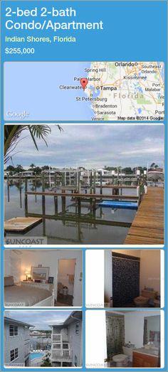 2-bed 2-bath Condo/Apartment in Indian Shores, Florida ►$255,000 #PropertyForSaleFlorida http://florida-magic.com/properties/38486-condo-apartment-for-sale-in-indian-shores-florida-with-2-bedroom-2-bathroom