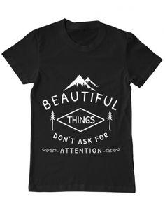 Tricou Tricou Beautiful things Camping, Mens Tops, T Shirt, Beautiful, Design, Fashion, Campsite, Supreme T Shirt, Moda